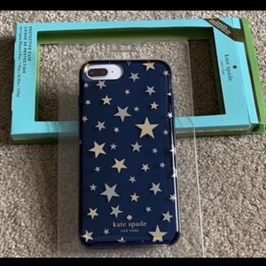💙 2/$25 Kate Spade iPhone cover new 6+/ 7+/8+